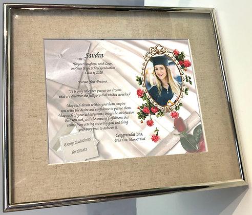 Custom Graduation Gift Frame