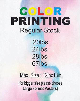 PRINT / regular stock