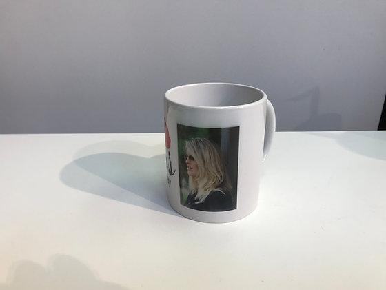 Customized Mug 11Oz White Pearl