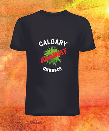 T-Shirt Calgary against Covid-19