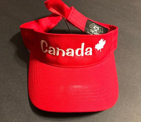 Canada Top Level Sun Sports Visor Men Women