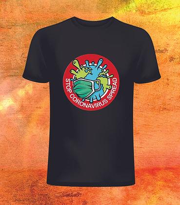 T-Shirt Stop coronavirus spread