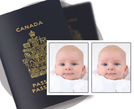 Infant Biometric Passport Photos