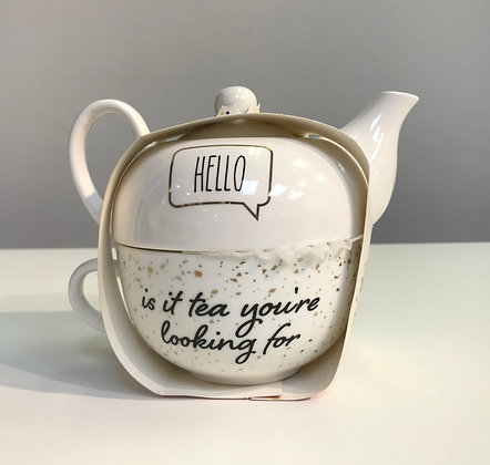 Gift Mug - Tea Pot Hello , is it tea you're looking for