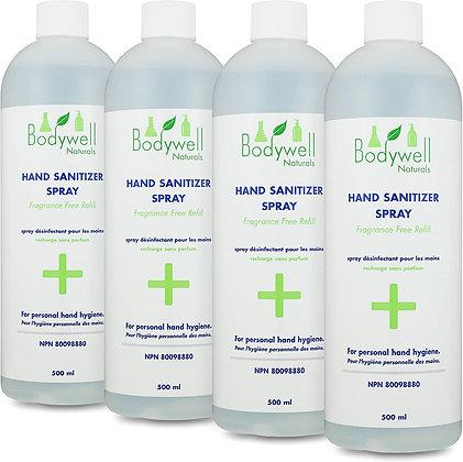 Hand Sanitizer Liquid Spray - 4 pack