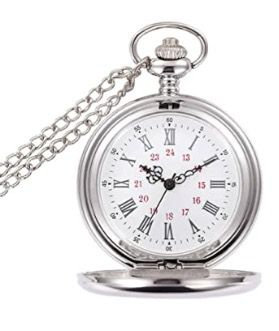 Pocket Watch Vintage Gift - Silver