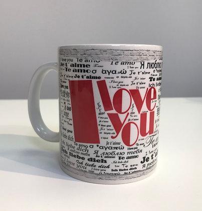 Custom Gift Mug - I Love You