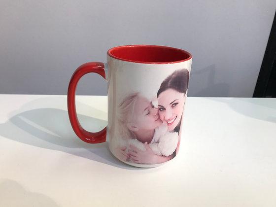 Customized Mug 15oz Colored Inside