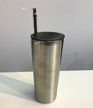 Custom Stainless Steel Tumbler Silver
