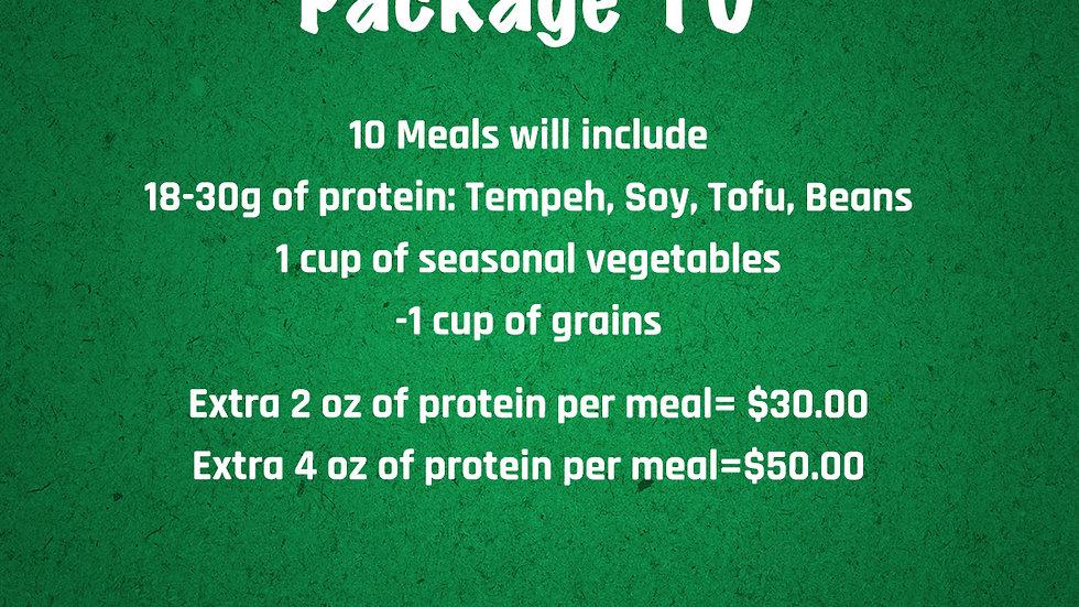 Vegetarian Package 10