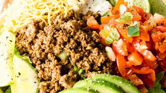 Beef Taco Bowl