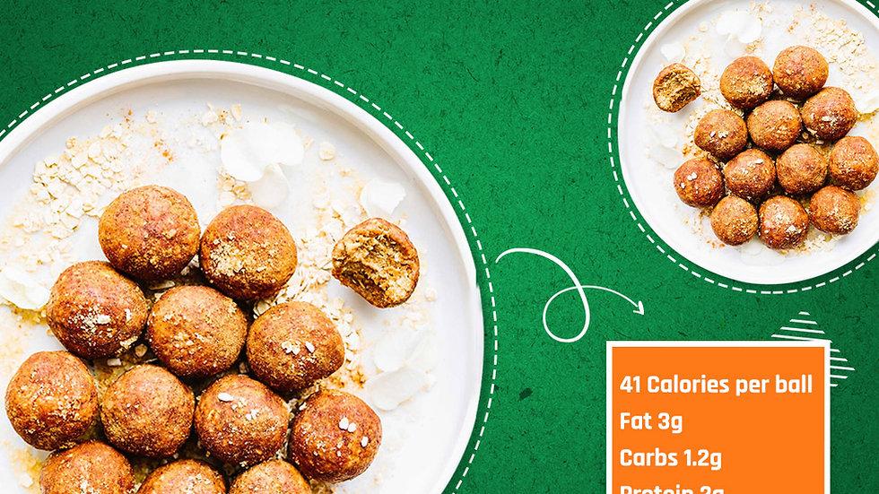 Vanilla Cinnamon Protein Balls