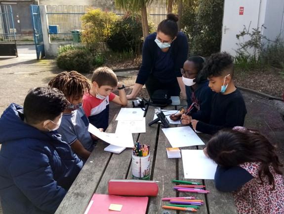 Workshop à l'association Astrolabe de Belcier