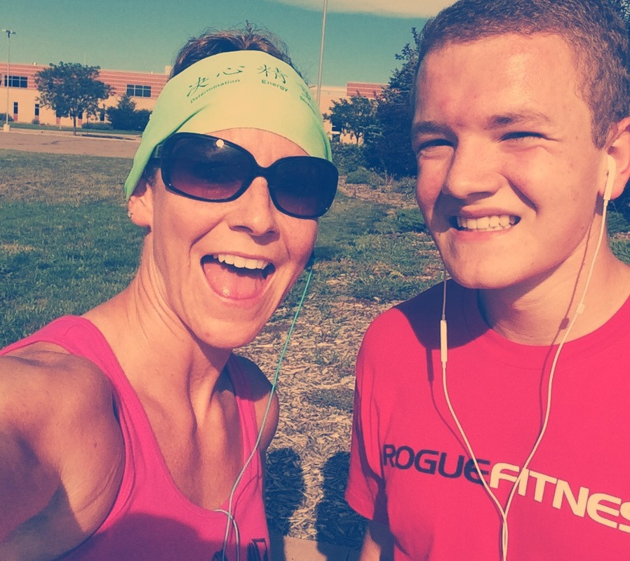 Running with Christopher
