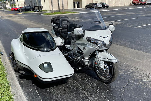 2012 Honda Gold Wing GL1800 with Hannigan Sidecar