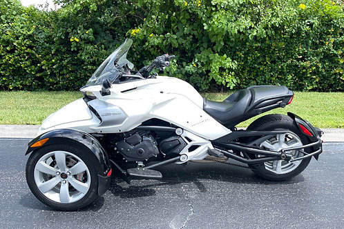 2015 CAN-AM Spyder F3 SE6 Automatic