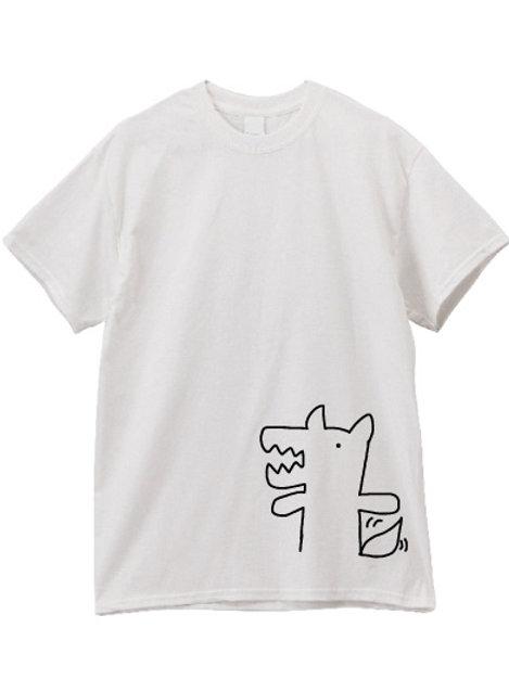Tシャツ おおかみのわんくん