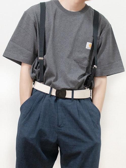 Carhartt ヘザーグレーTシャツ