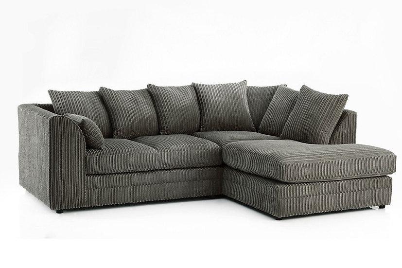 Chicago Jumbo cord corner sofa