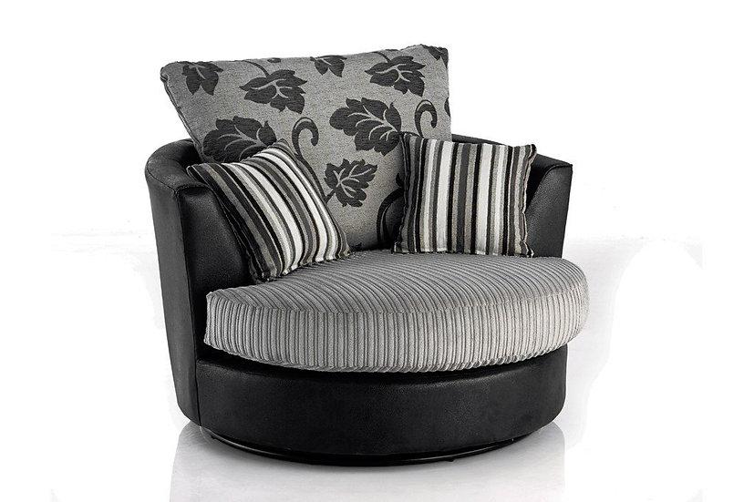 Lush swivel chair