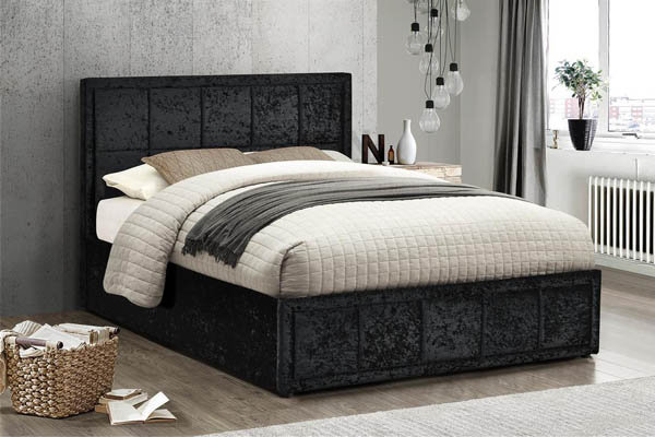 Hannover Fabric Ottoman Bed