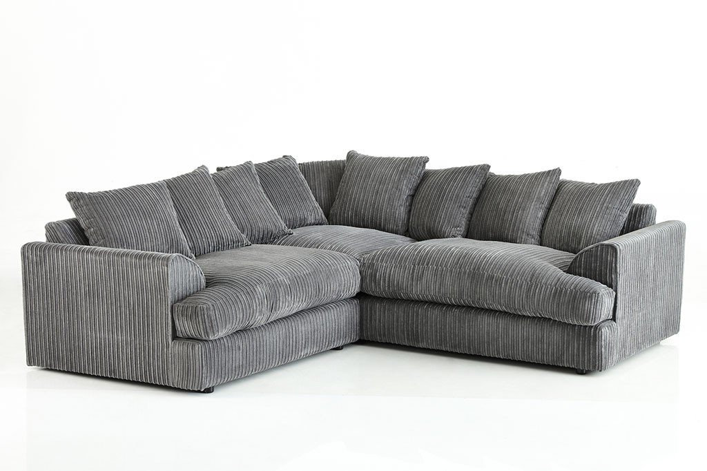 Ferguson Jumbo Cord Corner Sofa   Sofasnbeds