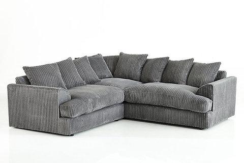 Ferguson Jumbo Cord corner sofa