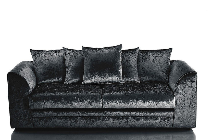 Chicago crushed velvet sofa 3+2 sofa