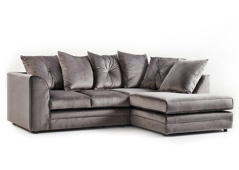 Chicago LuxVelvet Corner sofa