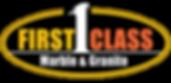 First Class Marble & Granite Logo Transp