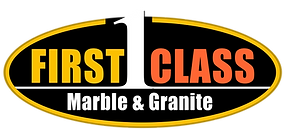 First Class Marble & Granite Logo Transp