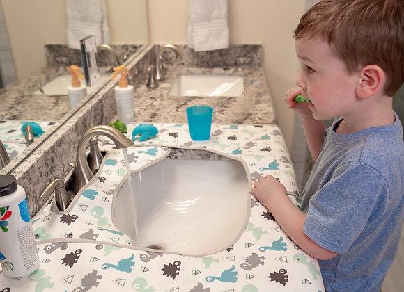 SPLASHPAD® Bathroom Sink Splash Guard - Dinosaurs
