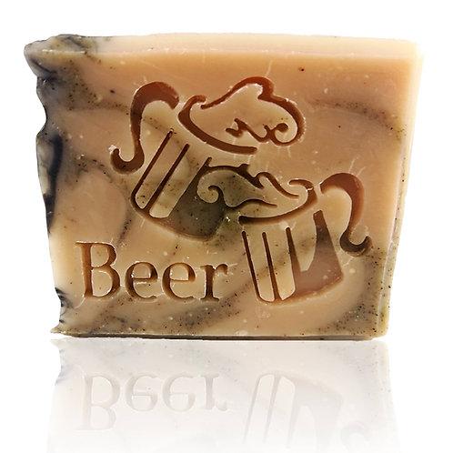 "Beer Soap Stamp - footprint 2.05"" x 1.57"" (52mm width x 40mm height)"