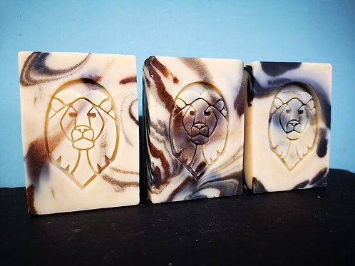 "Lion Soap Stamp - footprint 1.46"" x 2.24"" (37mm x 57mm)"
