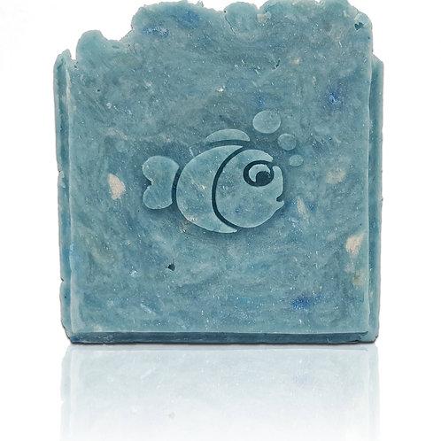 """3D Fish Soap Stamp - 1.57"""" (40mm) diameter"""