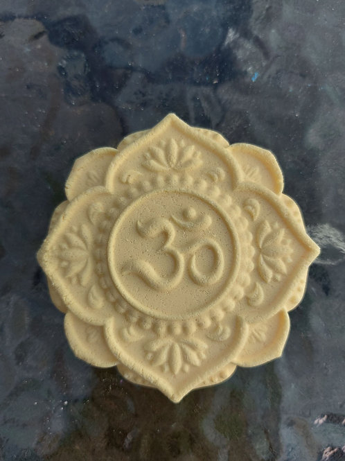 Ohm Sign esoteric design plastic (not only) bath bomb mould