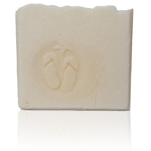 "3D Flip Flops Soap Stamp - 1.57"" (40mm) diameter"