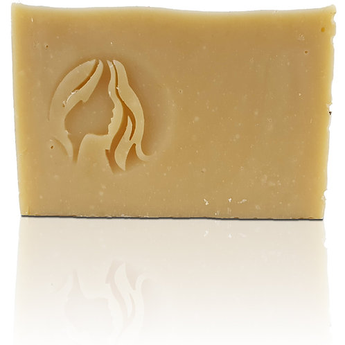 "3D Hair Soap Stamp - 1.57"" (40mm) diameter"