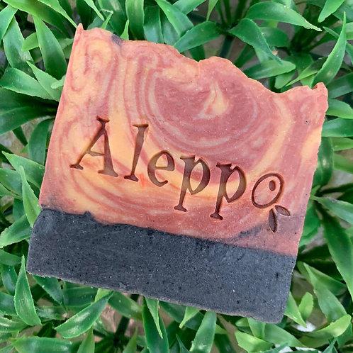 """Aleppo soap stamp - footprint  2.36"""" x 0.86"""" (60mm x 22mm)"""