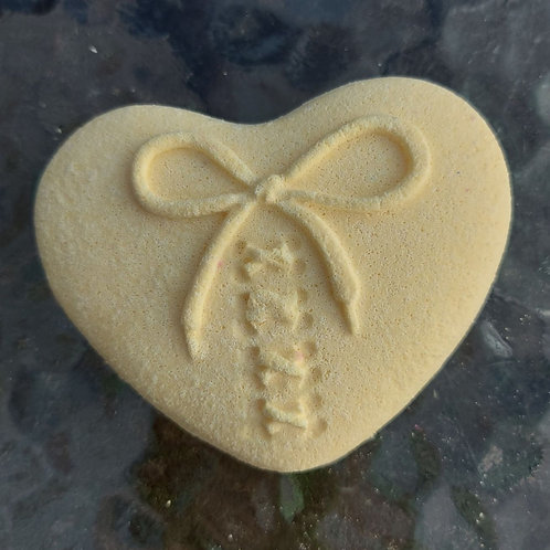 Love Heart plastic (not only) bath bomb mould