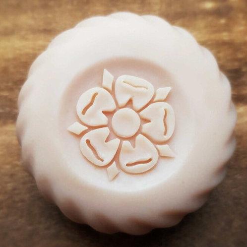"""3D fruit flower soap stamp - 1.57"""" (40mm) diameter"""