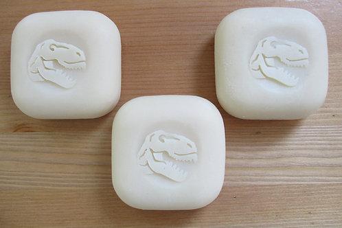 "3D T-Rex Head Soap Stamp - 1.57"" (40mm) diameter"