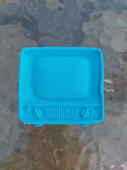 Television TV plastic (not only) bath bomb mould