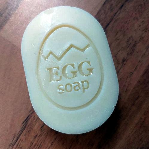 Broken Easter Egg Soap Stamp - footprint: 1.29' x 1.69' (33mm x 43mm)
