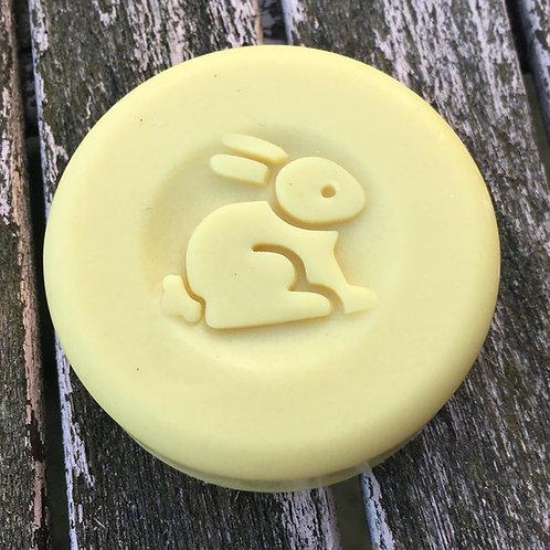 """3D Easter Rabbit - 1.57"""" (40mm) diameter"""