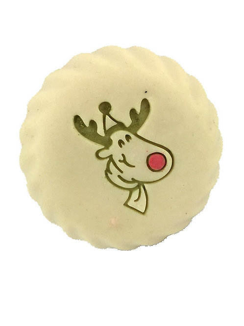 Christmas Raindeer (left/right) - imprint area 1.26' x 1.46'  (32mm x 37mm)