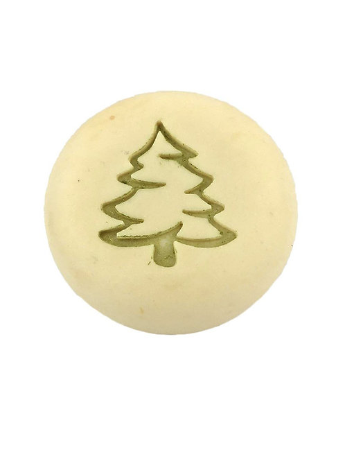 Christmas Pine Tree - footprint: 1.26' x 1.46'  (32mm x 37mm)