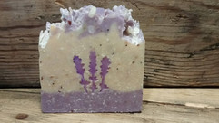 Lavender Soap Stamp