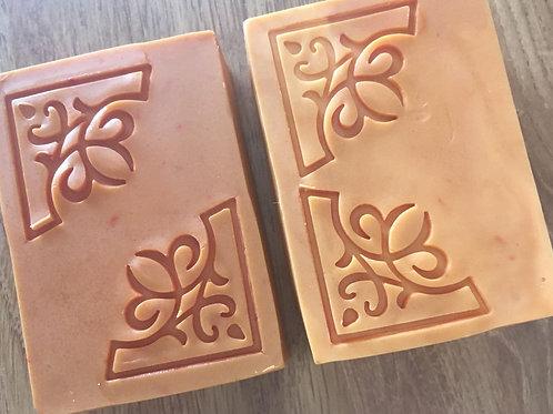 """Corner Like Soap Stamp - footprint 1.38"""" x 1.38"""" (35mm width x 35mm height)"""
