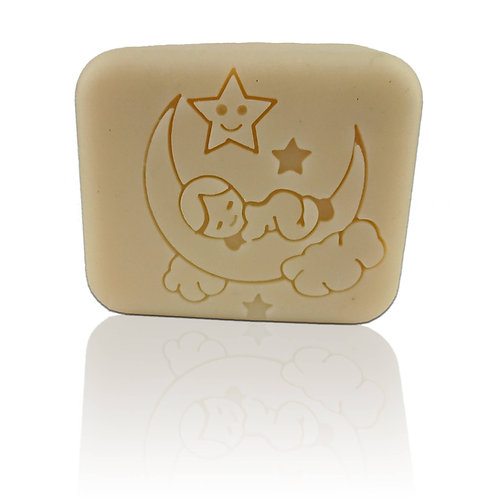 "MoonBaby Soap Stamp - Footprint d2.28"" (58mm) diameter"